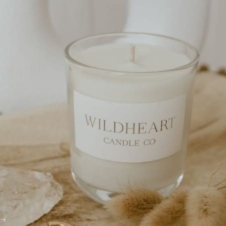 WildHeart hand poured soy candle